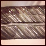 Oleg Cassini clutch/bag. Fantastic vintage condition, snakeskin and leather. $45 plus postage