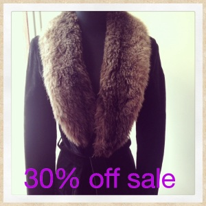 Faux Fur and Suede Jacket. Size 10, fabulous condition. Was $75 now only $50