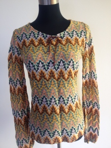 Missoni style 70's knit top. Size 8-10 in perfect condition. $35